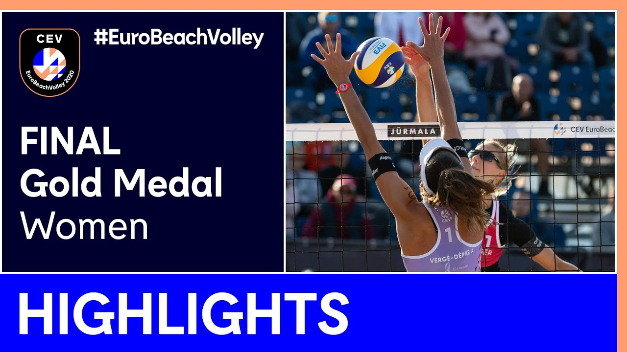 Behrens/Tillmann vs Heidrich/Vergé-Dépré, A. Gold Medal Highlights - EuroBeachVolley 2020 Women