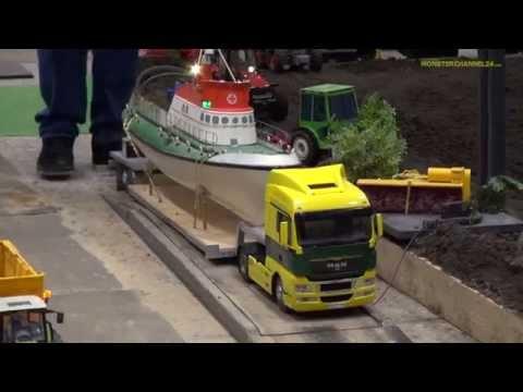 R/C Truck and Excavator footage Neumünster, Germany 2014