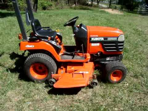 2003 Kubota Bx 2200 Tractor Lawn Mower Youtube