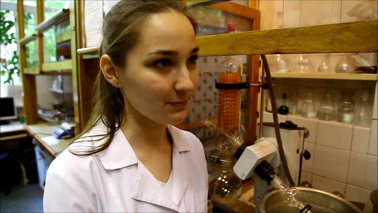 Марина Захарко работает с сенсорами органических молекул
