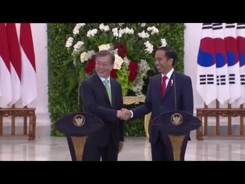 Kunjungan  Presiden Korea Selatan di Istana Bogor (Bagian 2)