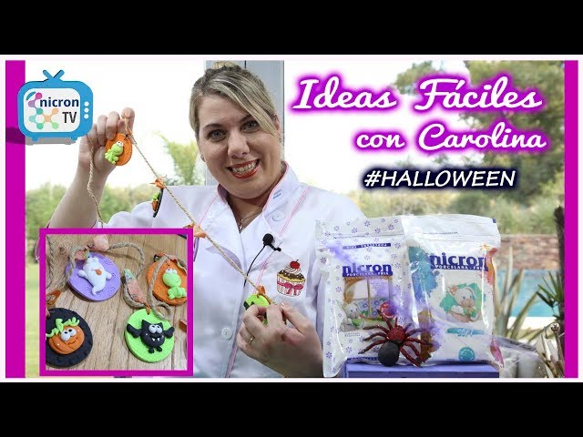 Ideas Fáciles NICRON TV - Guirnalda Halloween