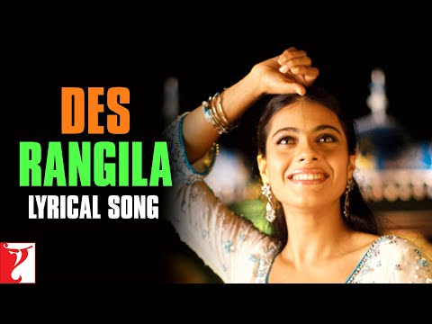 Lyrical: Des Rangila Song with Lyrics | Fanaa | Aamir Khan | Kajol | Prasoon Joshi