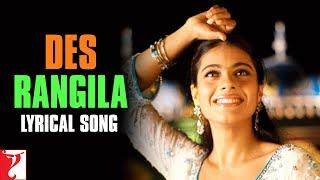 lyrical-des-rangila-song-with-lyrics-fanaa-aamir-khan-kajol-prasoon-joshi