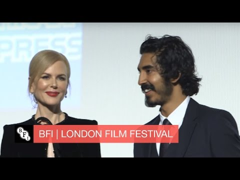 A roaring success: Nicole Kidman and Dev Patel introduce Lion at the London film festival