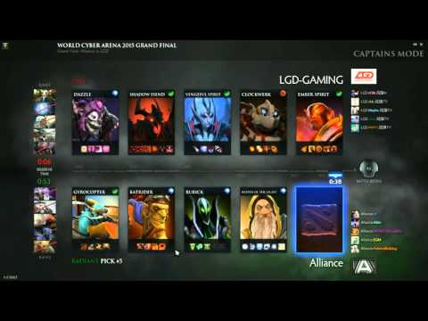 Alliance vs LGD - WCA 2015 Playoffs Finals - G4
