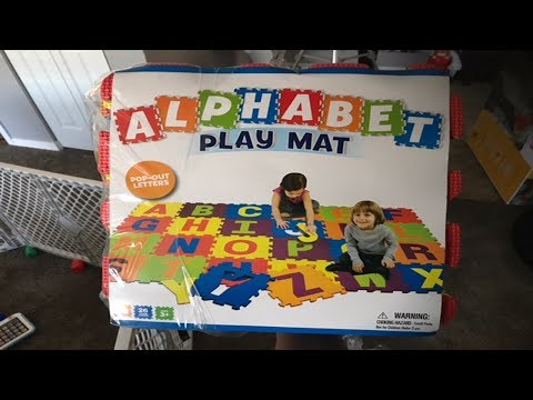Alphabet Play Mat Review (ABC PLAY!!!)