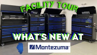 What's New At Monetezuma Toolboxes? Let's Find Out And Take The Tour Of Their Facility!!