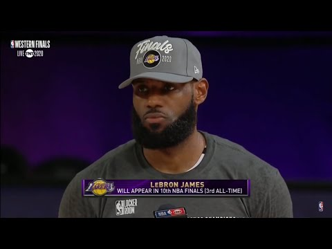 Los Angeles Lakers Trophy Presentation | 2020 Western Conference Finals