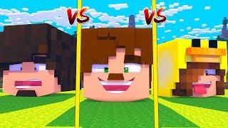 BUGRAAK EV vs CEKİK EV vs JONATHAN EV - Minecraft