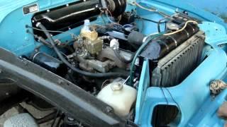 Первый запуск двигателя ГАЗ 21 Волга 1969 г.в. после капитального ремонта