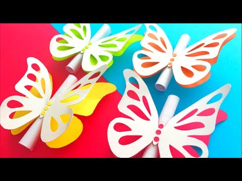 BUTTERFLY INVITATION - VERY EASY!
