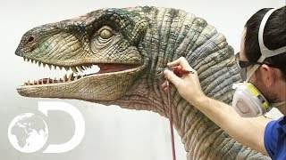 ANIMATRONIC DINOSAURS | How It's Made