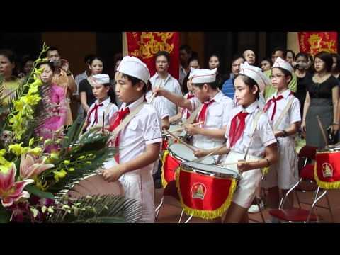 Khai Giang Nam Hoc 2010-2011 Truong Tieu Hoc Trang An Q. Hoan Kiem Hanoi