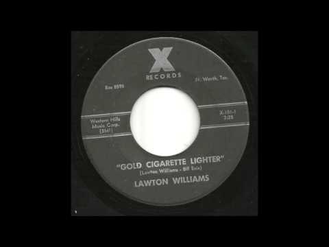 Lawton Williams - Gold Cigarette Lighter