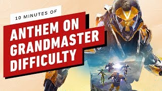 10 Minutes of Anthem Grandmaster - Endgame Difficulty Gameplay