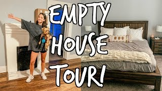 UA COLLEGE MOVE IN VLOG - EMPTY HOUSE TOUR!