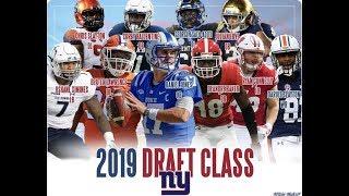 NY Giants 2019 Draft Class Highlights