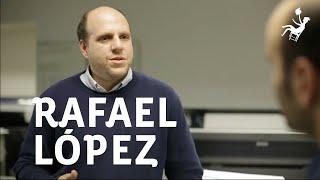 """Rafael López en Ojo en Tinta - """"El editor"""""""