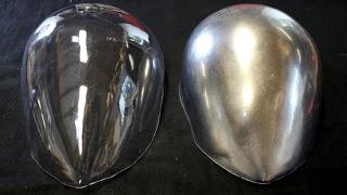 COSPLAY CLEAR VISOR TUTORIAL - HALO VISOR BLANK