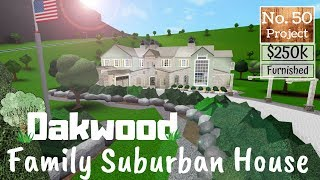 Bloxburg Build || Suburban Family House | Roblox [Part 1/2]