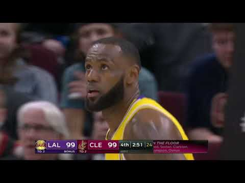 Los Angeles Lakers vs Cleveland Cavaliers | November 21, 2018