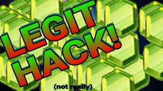 LEGIT UNLIMITED GEM HACK! BEST WAY TO GET FREE GEMS IN CLASH OF CLANS! UNLIMITED GEMS! (NOT REALLY)