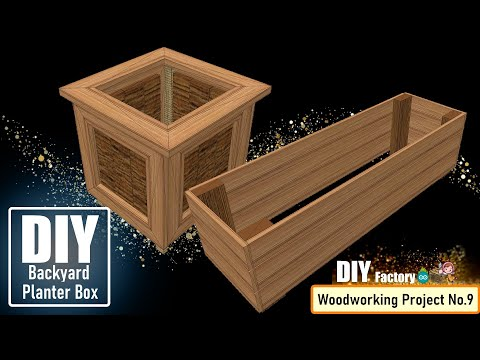 DIY - Backyard Planter Box