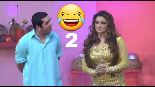 Best of zafari khan and tahir anjam sister New #Pakista #punjabi full cmedy funny clip // 2019 2018