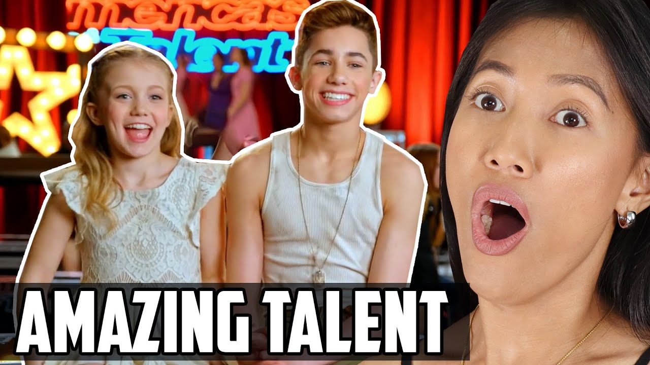 Dynamic Kid Duo Dance Reaction | Izzy And Easton Dazzle America's Got Talent (AGT 2019) Judges