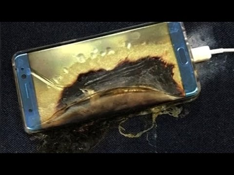 Samsung issues safety recall for Galaxy Note 7
