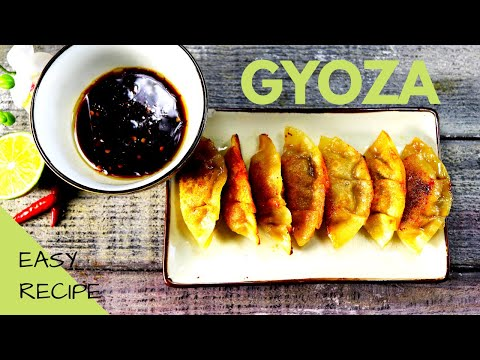 gyoza-(potstickers)- -japanese-food- -easy-to-make