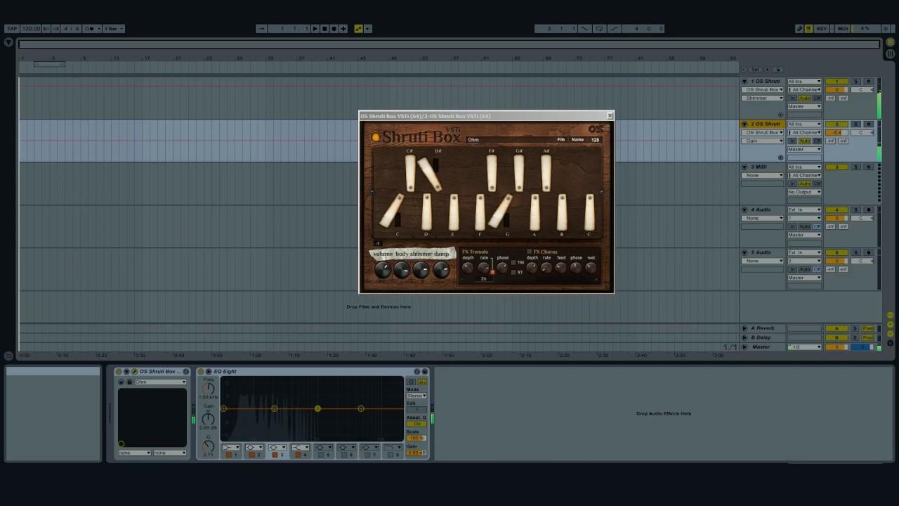 Shruti Box Vsti – Ocean Swift Synthesis