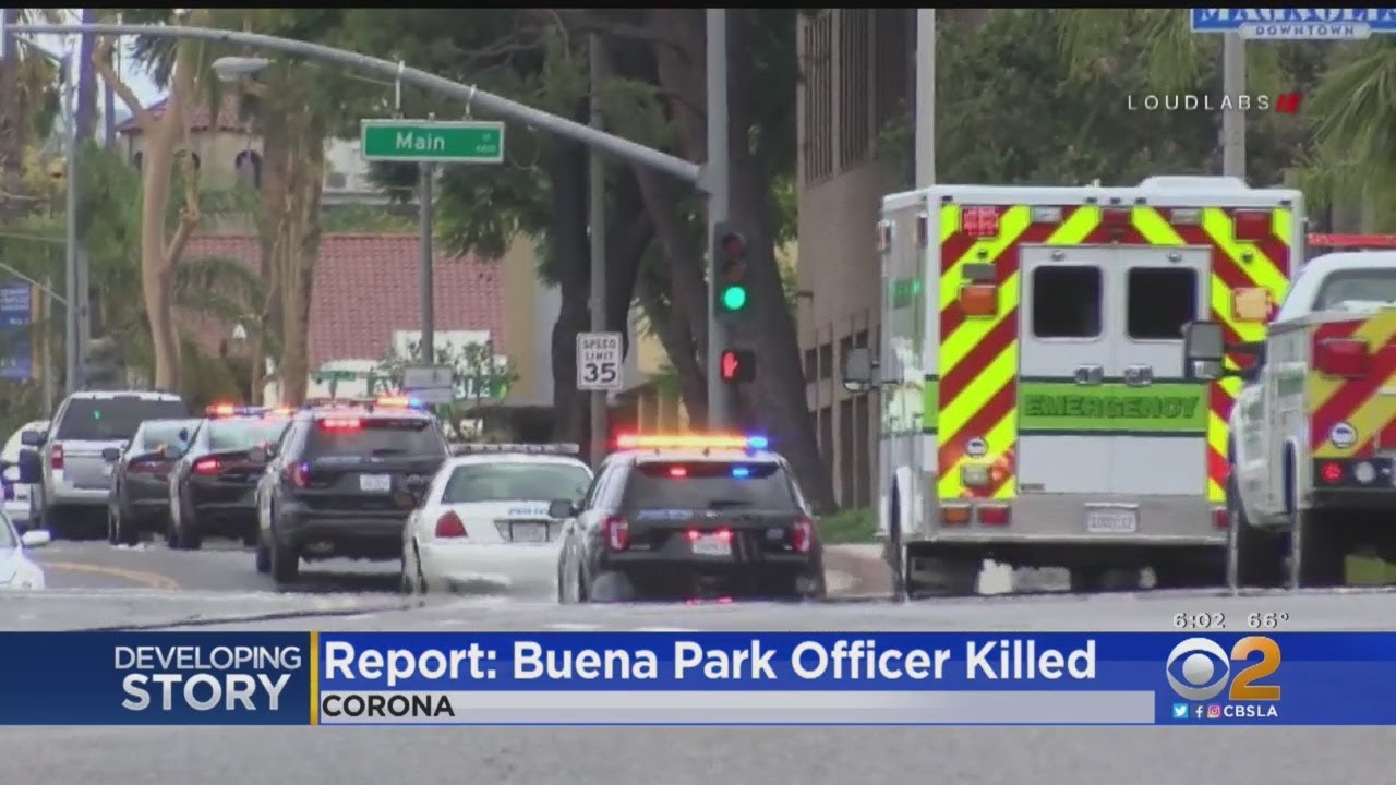 Buena Park Reserve Police Officer Reportedly Killed In 3-Vehicle Crash