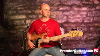 Review Demo - Fender American Deluxe Dimension Bass