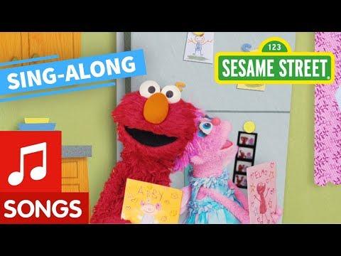Sesame Street: Elmo and Abby's Valentine's Day Song | Lyric Video