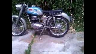 moto F.B Mondial 125 champion
