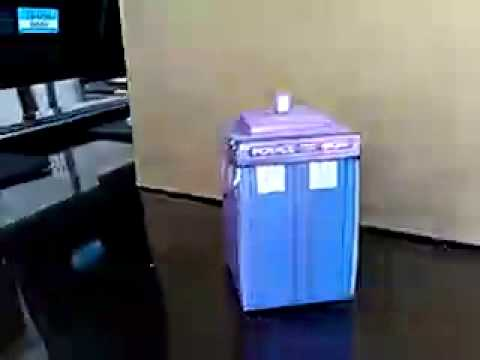doctor who origami transforming tardis bigger on the