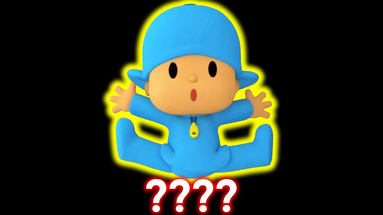 """12 POCOYO """"Scaring Clock!"""" Sound Variations in 46 Seconds"""