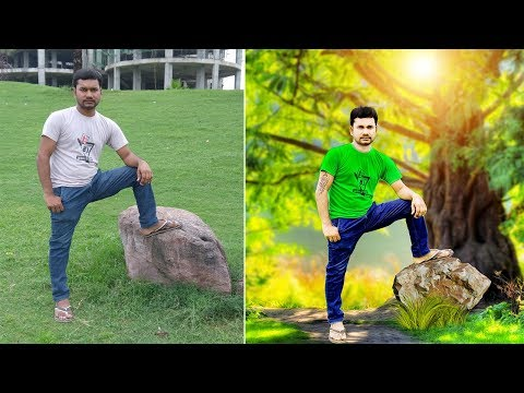 [ Hindi ] Photoshop cc 2017   CB editing Photoshop Tutorial for beginners