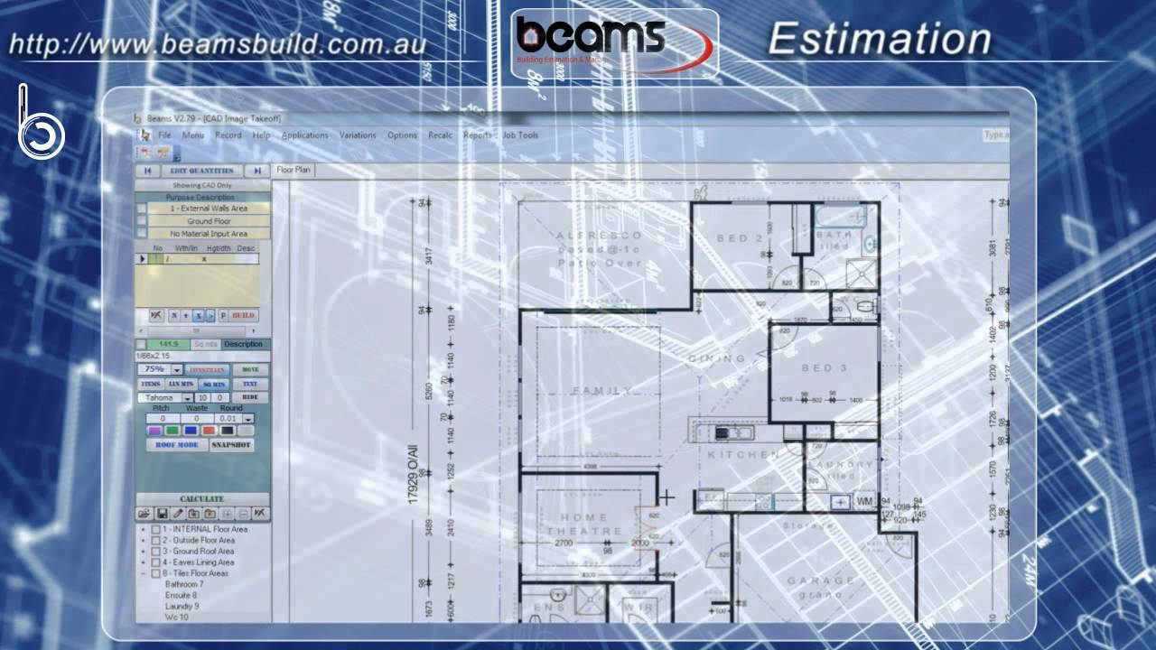The best estimating software ever made youtube for Home floor plans with estimated cost to build