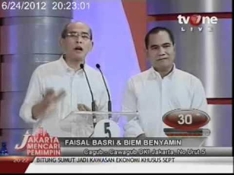 Debat Cagub DKI
