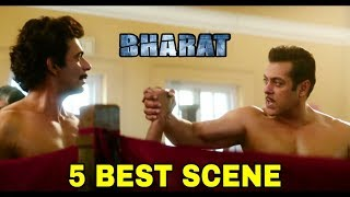 Bharat Movie Trailer | 5 Best Scene | Salman Khan, Katrina Kaif, Sunil Grover