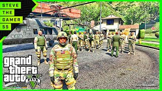 GTA 5 LSPDFR 0.3.1 - EPiSODE 53 -  MILITARY PATROL+++ (GTA 5 PC POLICE MODS) MAPS EDITOR
