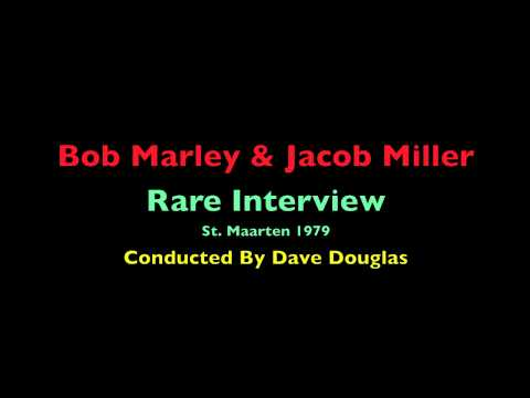 Entire (Unedited) Bob Marley & Jacob Miller Rare Interview St. Maarten