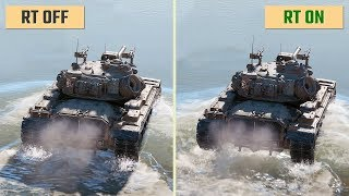World of Tanks Ray Tracing On vs. Off (enCore)
