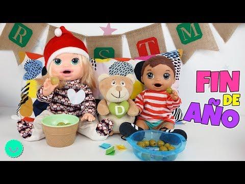 Fin de Año con la bebé Sara y Luke Baby Alive