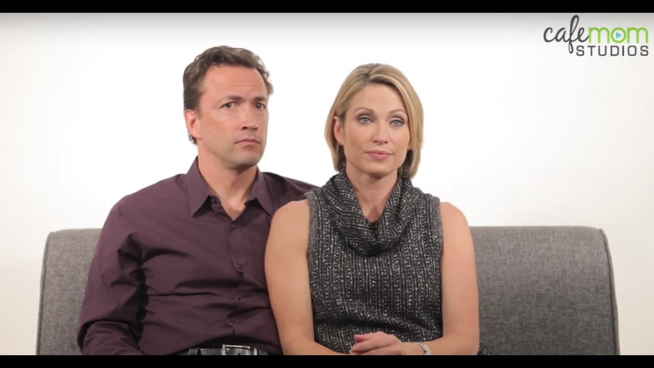 amy robach and andrew shue on dangerousquot mammogram