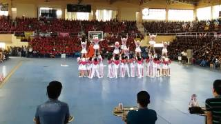 HERCOR COLLEGE HRM cheer dance  2016 champion!