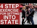 The Johnny Berba 4 Step Exercise to Getting into State